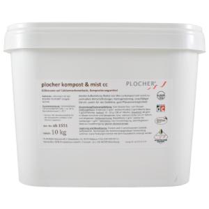 Compost et fumier Plocher carbonate de calcium